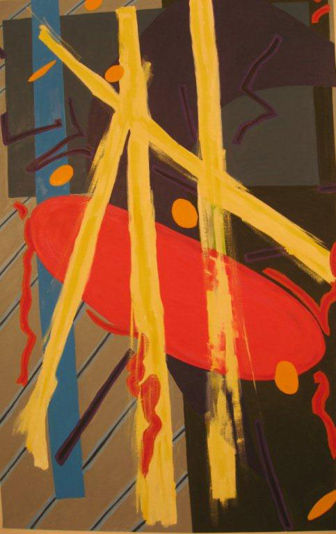 Danae-abstract