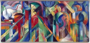 """""""Stables"""" by Franz Marc"""