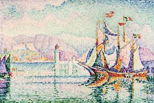 """Antibes - Morning"" by Paul Signac"