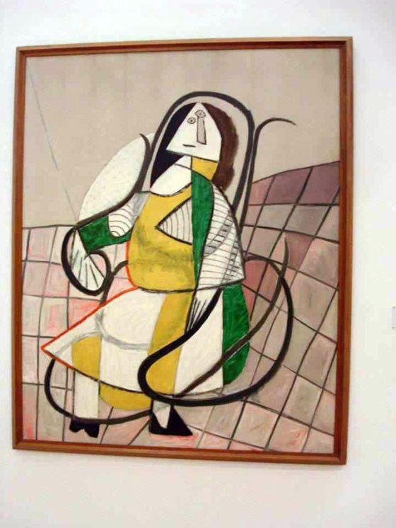 """Rocking Chair"" by Pablo Picasso"