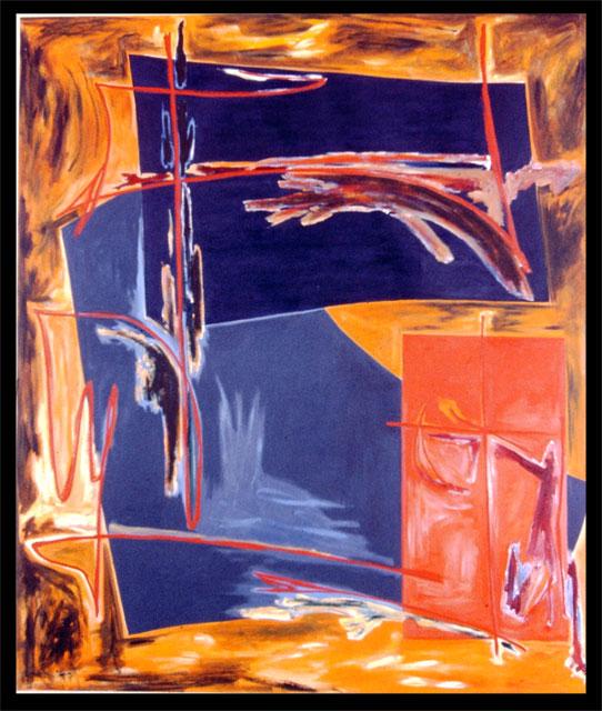 """""""Burnt Rainbow"""" by Diana Hobson"""