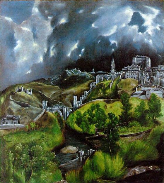 """""""View of Toledo"""" by El Greco"""