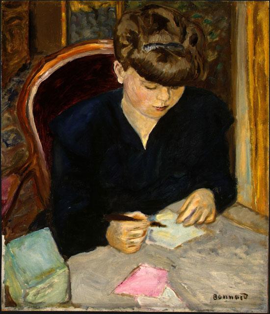 """The Letter"" by Pierre Bonnard"