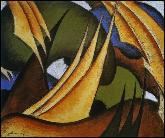 """Sails"" by Arthur Dove"