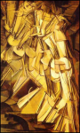"""Nude Descending a Staircase, No. 2,"" by Marcel Duchamp"