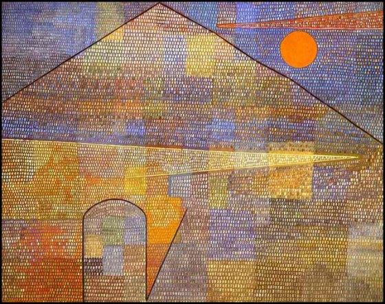 """""""Ad Parnassum"""" by Paul Klee"""