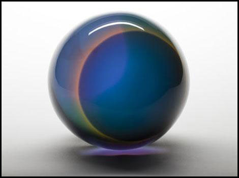 """""""Untitled"""" (sphere), by Helen Pashgian"""