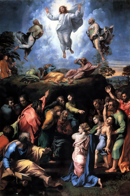 """Transfiguration"" by Raphael"