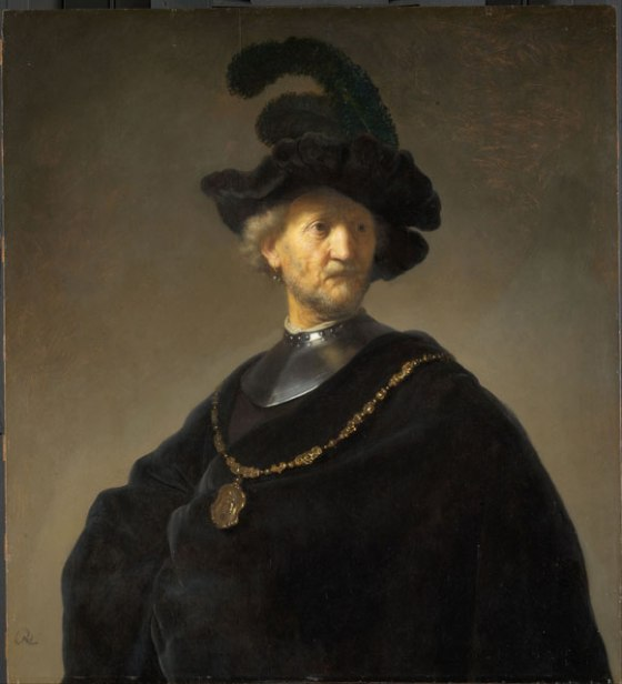 """Old Man with a Gold Chain"" by Rembrandt"