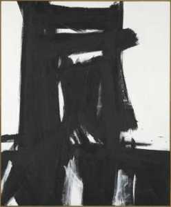 los angeles abstract artist-franz kline-meryon